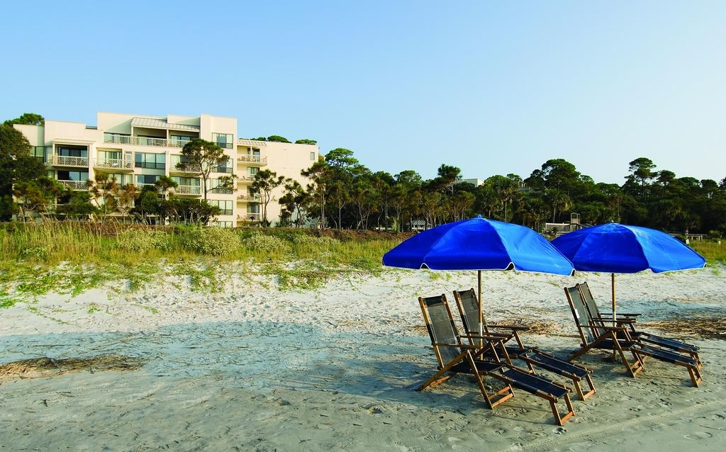 Oceanfront hotel Marriott Monarch Sea Pines