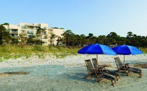 Oceanfront hotel Marriott Monarch Sea Pines