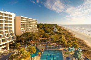 Marriott Oceanfront Hotel on Hilton Head Island